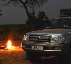Cruzando la frontera de Uganda