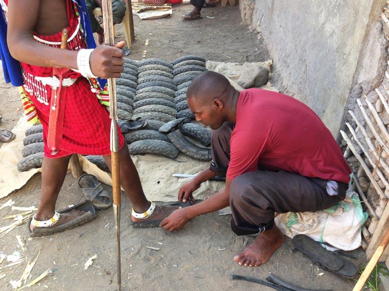 Zapatero masai