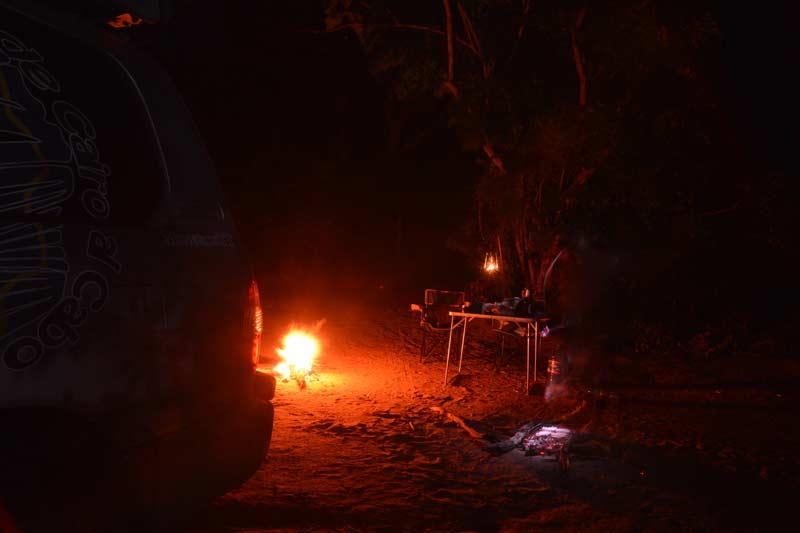 9 Fuego de campamento Africano