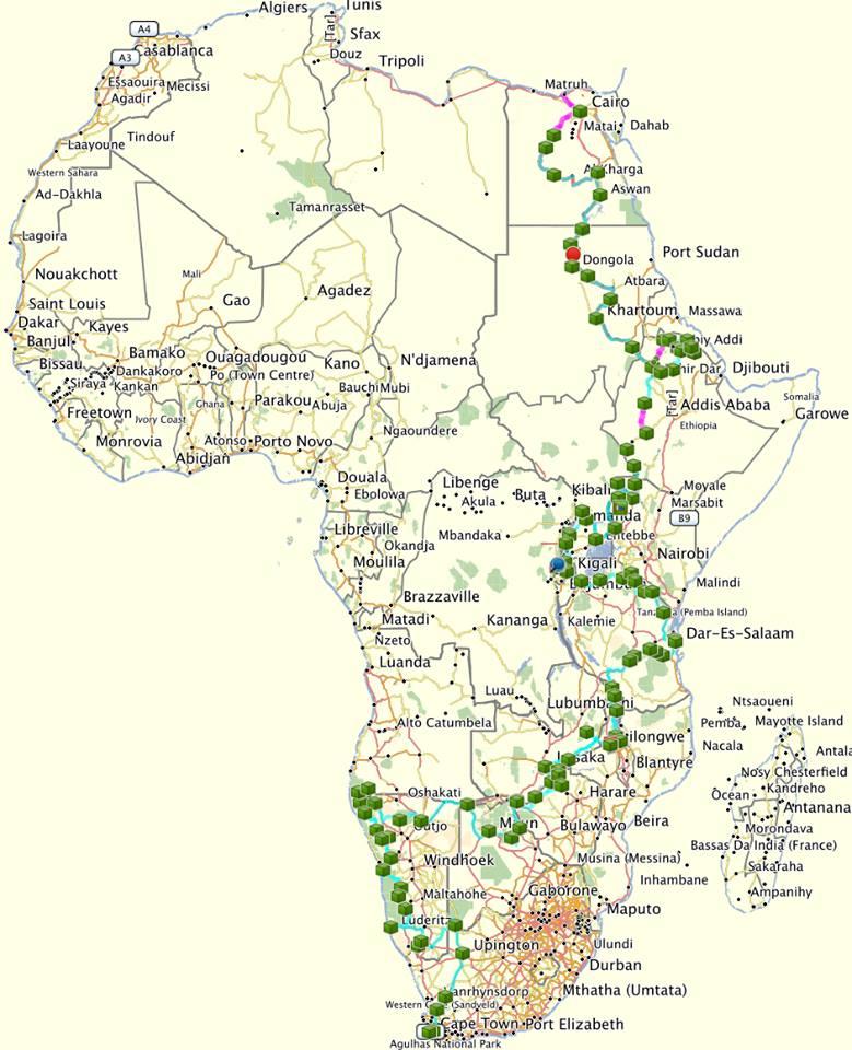 Nuestra ruta por Africa