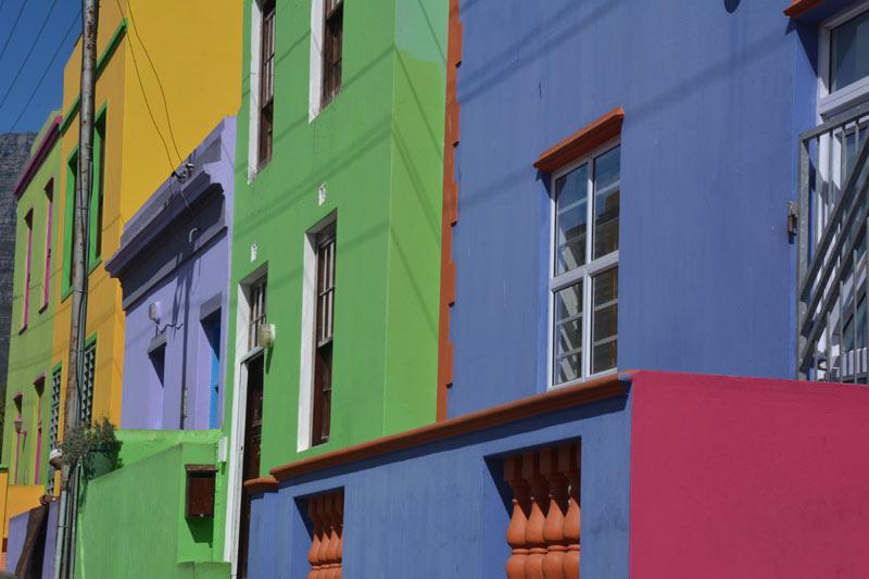 Calles del barrio de Bo Kaap